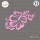 Sticker Flower Design Sticks-em.fr Couleurs au choix