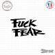 Sticker JDM Fuck Fear Sticks-em.fr Couleurs au choix