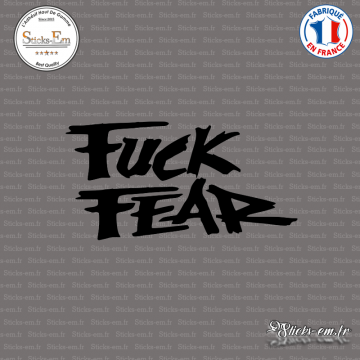Sticker JDM Fuck Fear