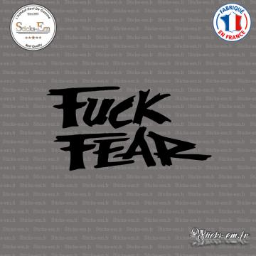 Sticker JDM Fuck Fear