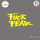 Sticker JDM Fuck Fear Sticks-em.fr Couleurs au choix