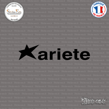 Sticker Ariete Logo