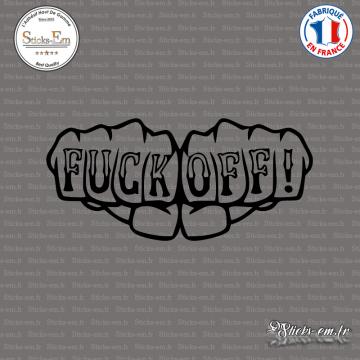 Sticker JDM Fuck OFF Tatoo