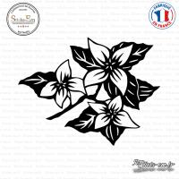 Sticker Orchid Flowers Sticks-em.fr Couleurs au choix
