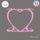 Sticker Heart Coeur Sticks-em.fr Couleurs au choix