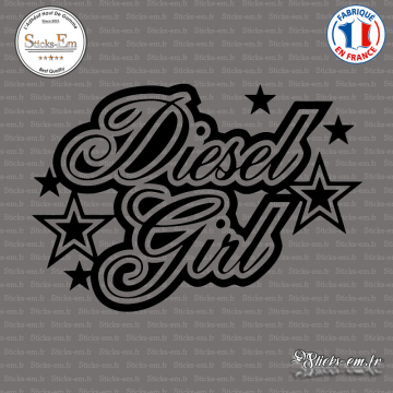 Sticker JDM Diesel Girl