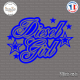 Sticker JDM Diesel Girl Sticks-em.fr Couleurs au choix