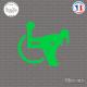 Sticker JDM Fuck Fauteuil Roulant Sticks-em.fr Couleurs au choix