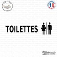 Sticker Mural Toilettes Mixtes sticks-em.fr