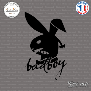 Sticker Bad Boy Lapin PlayBoy