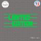Sticker JDM Limited Edition sticks-em.fr