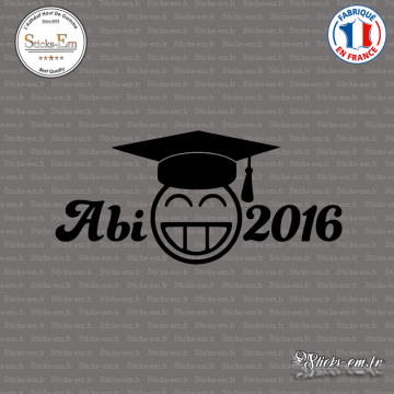 Sticker JDM Abi 2016