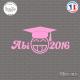 Sticker JDM Abi 2016 Sticks-em.fr Couleurs au choix
