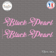 2 Stickers Black Pearl Sticks-em.fr Couleurs au choix