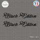 2 Stickers Black Edition Sticks-em.fr Couleurs au choix