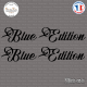 2 Stickers Blue Edition XL Sticks-em.fr Couleurs au choix