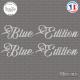 2 Stickers Blue Edition XL Sticks-em.fr Couleurs au choix