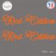 2 Stickers Red Edition XL sticks-em.fr