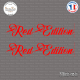 2 Stickers Red Edition Sticks-em.fr Couleurs au choix