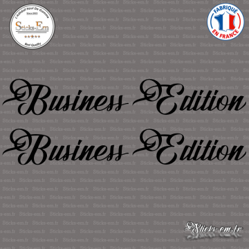 2 Stickers Business Edition XL