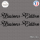 2 Stickers Business Edition XL Sticks-em.fr Couleurs au choix