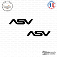 2 Stickers ASV Sticks-em.fr Couleurs au choix