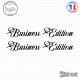 2 Stickers Business Edition Sticks-em.fr Couleurs au choix