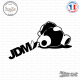 Sticker JDM Sleepy Panda Sticks-em.fr Couleurs au choix
