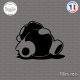 Sticker Sleepy JDM Panda Sticks-em.fr Couleurs au choix