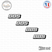 4 Stickers BBS Sticks-em.fr Couleurs au choix