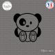 Sticker JDM Ours Panda Sticks-em.fr Couleurs au choix