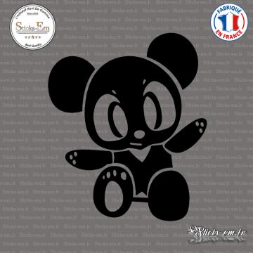 Sticker JDM Panda Manga