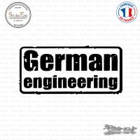 Sticker JDM German Engineering