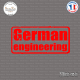 Sticker JDM German Engineering sticks-em.fr