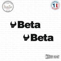 2 Stickers Beta sticks-em.fr
