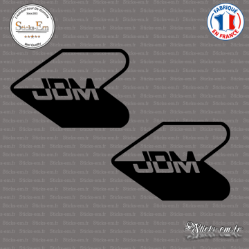 2 Stickers JDM Flèche