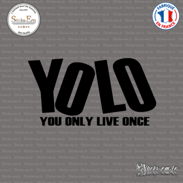 Sticker JDM YOLO
