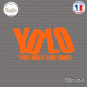Sticker JDM YOLO Sticks-em.fr Couleurs au choix