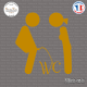 Sticker WC Toilettes sticks-em.fr