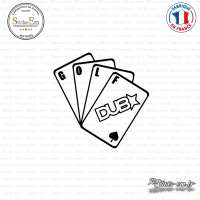 Sticker JDM Jeu de Cartes Golf DUB