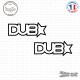 2 Stickers JDM Dub Star Sticks-em.fr Couleurs au choix