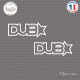 2 Stickers JDM Dub Star Sticks-em.fr Couleurs au choix