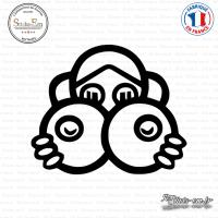 Sticker JDM Big Boobs