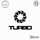 Sticker Turbo Sticks-em.fr Couleurs au choix