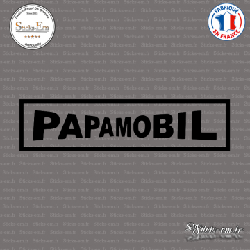 Sticker JDM Papamobil