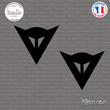 2 Stickers Dainese Logo