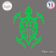 Sticker Tortue Tribal Sticks-em.fr Couleurs au choix