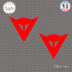 2 Stickers Dainese Logo Sticks-em.fr Couleurs au choix