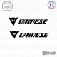 2 Stickers Logo Dainese Sticks-em.fr Couleurs au choix