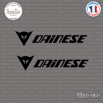 2 Stickers Logo Dainese